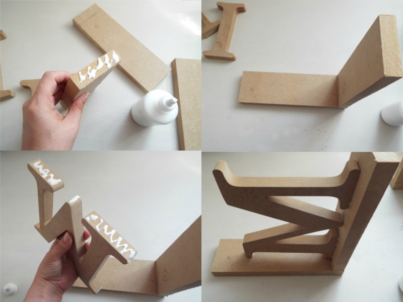 Building the MDF bookends