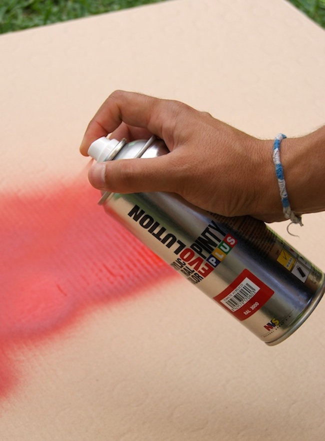how to paint with pintyplus spray