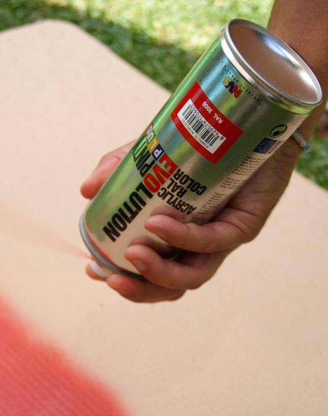 how to purge spray can pintyplus